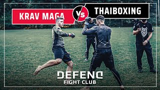German KRAV-MAGA-Fighter vs. Kurdish THAIBOXER  | MMA | DFC