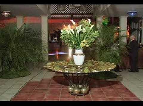Decoraci n para fiesta de 15 a os youtube for Arreglos con globos para boda en jardin