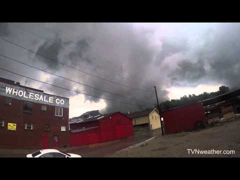 NEW video from KY/VA Appalachian Mountain storm chase! July 27, 2014