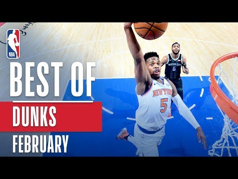 NBA's Best Dunks | February 2018-19 NBA Season thumbnail