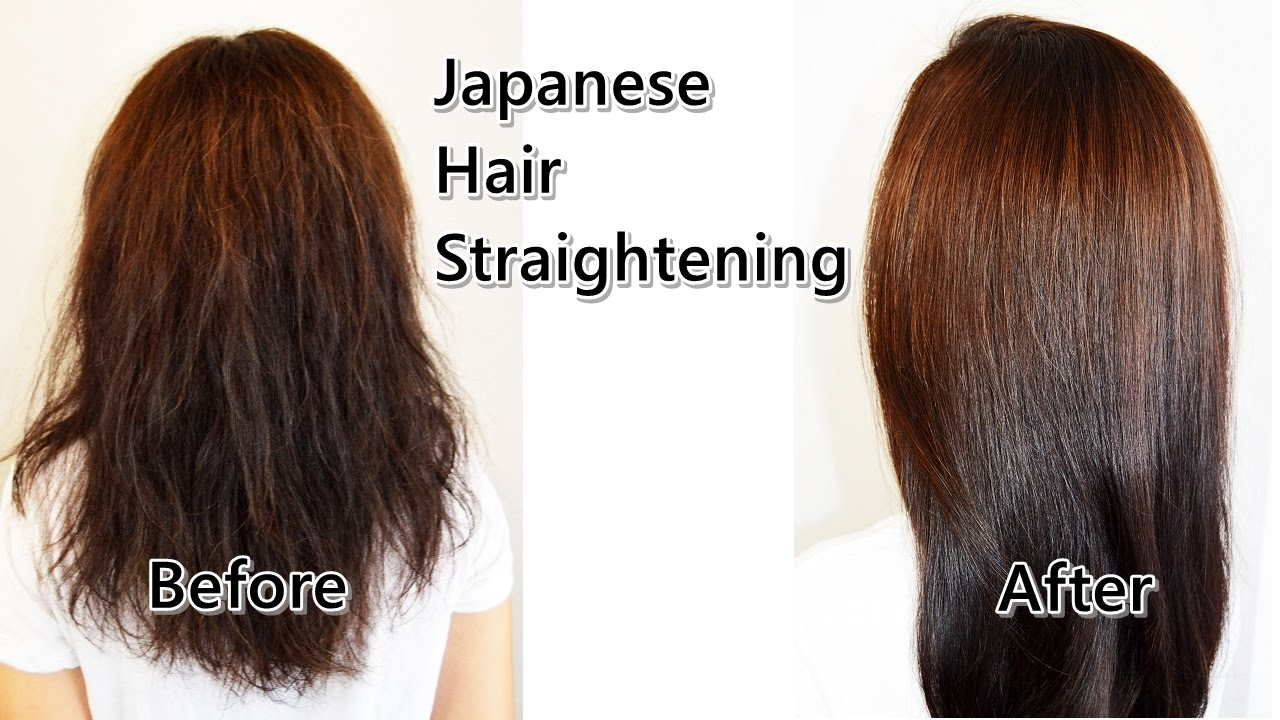 Best japanese straight perm - Japanese Hair Straightening By Bob Shoda Of Gavert Atelier Beverly Hills