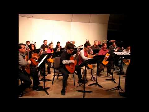 Sacramento Guitar Society Guitar Orchestra Holiday Concert 2014