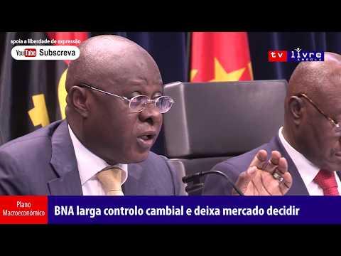 Conferência de Imprensa da Equipa Económica do Governo Angolano 03.01.2018