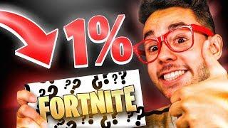 *SOLO* el 1% de los JUGADORES consigue ESTO en Fortnite...