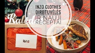 Vlogmas #17: INZO clothes dirbtuvėlės ir nauji receptai