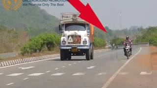(GHOST CAUGHT  ON CAMERA) AT NH 10 ROAD