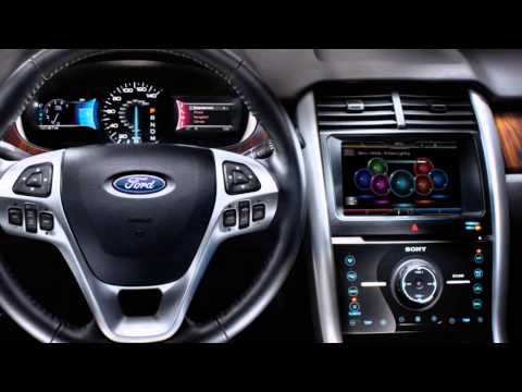 2016 ford edge interior 2016 ford edge mpg youtube