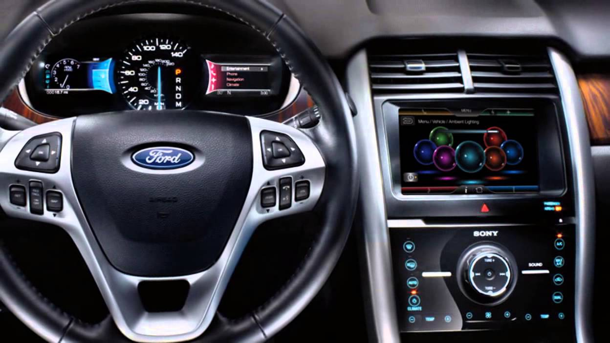 Ford Edge Interior  Ford Edge Mpg