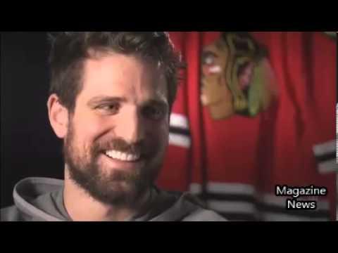 CHICAGO vs BUFFALO Patrick Sharp interview