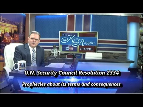 Bible Prophecies Pertaining to UN Resolution 2334 and the Great Tribulation