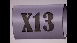 Máquinas de tatuagem profissional rotativa X13 da XTM