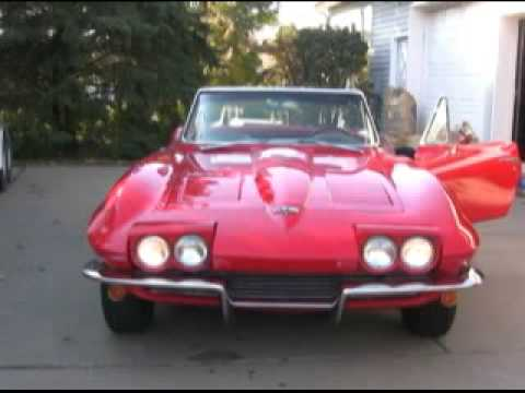 1964 Corvette Headlights Youtube