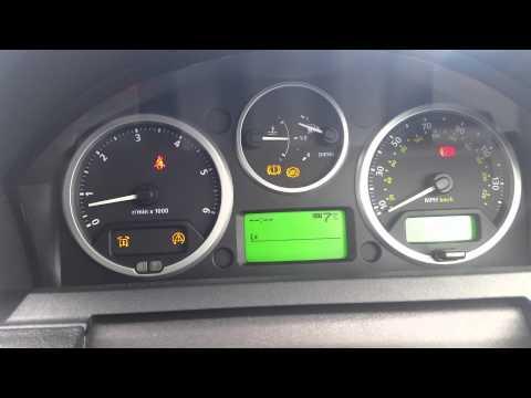 Air Suspension, HDC, Transmission Error, ABS error on Range Rover Spport