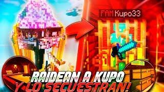 RAIDEO una BASE SECRETA y RESCATO a KUPO33 | TROLLEOS EN MINECRAFT #228