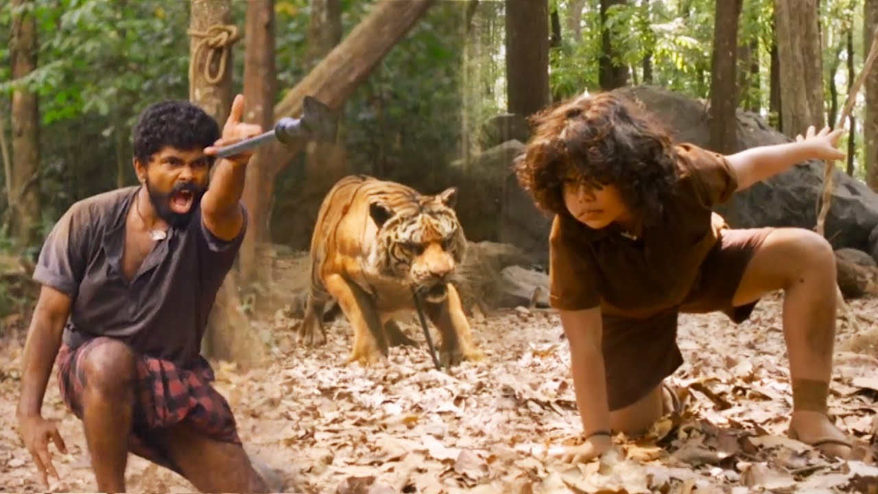Download Mohanlal Goosebumps Tiger Action Scene | Tollywood Latest Action Hit Movie |Tollywood Talkies