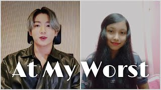 At My Worst Duet Cover with BTS JUNGKOOK