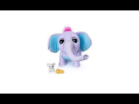 Интерактивная игрушка Spin Master Слоненок Juno SM30100 в магазине PLANETTOYS