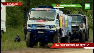 """Показательное шоу грузовиков """"Камаз-Мастер"""" - ТНВ"""