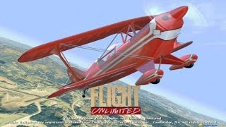 Flight Unlimited gameplay (PC Game, 1995)