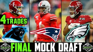2021 NFL Mock Draft | FINAL 2021 NFL Mock Draft SURPRISING TRADES