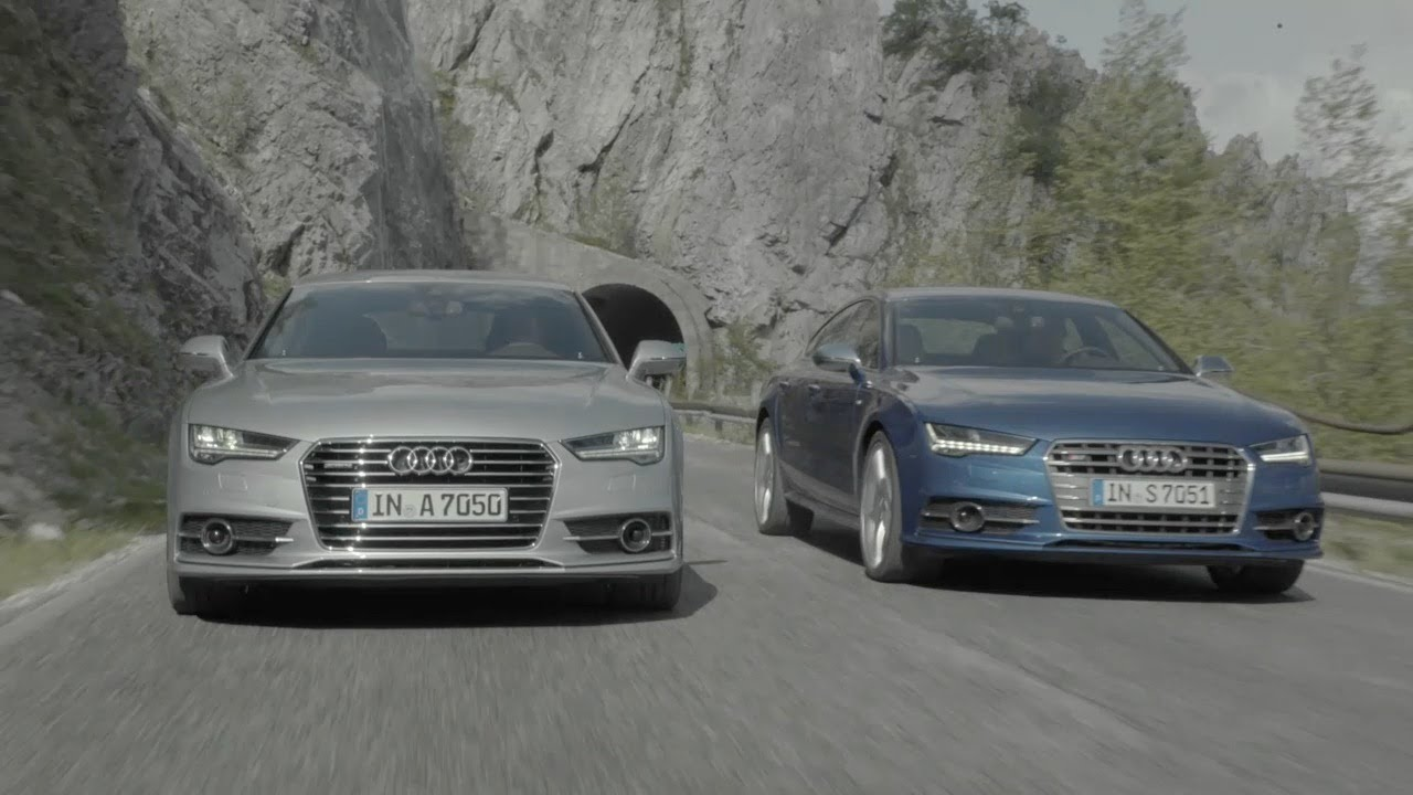 Audi A7 And Audi S7 2015 Official Trailer Youtube