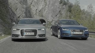 NEW 2015 Audi A7 & S7 reveal promo(The spacious five-door coupe is now even more powerful and attractive -- thanks to new engine configurations, new transmissions, new headlights, taillights and ..., 2014-05-22T08:45:14.000Z)