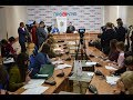 Прес-конференція голови ЛОДА Олега Синютки