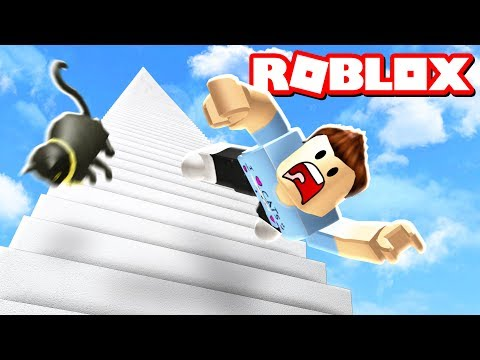 Thumbnail: FALL DOWN 999,999 STAIRS IN ROBLOX