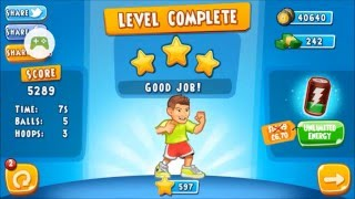 dude perfect 2 game very difficult level 193 completed with 3 stars