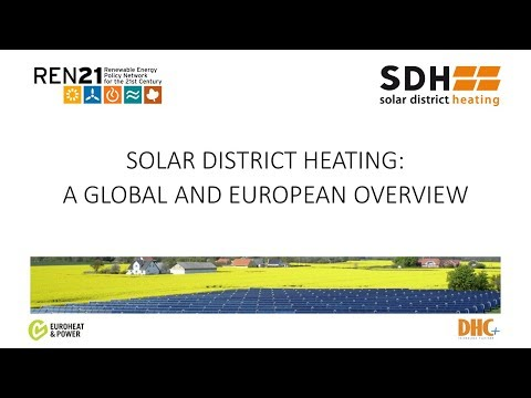 Solar District Heating: a Global and European Overview