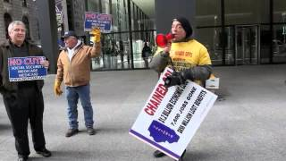 Progress Illinois: Protesters Rally Against Social Security Cuts