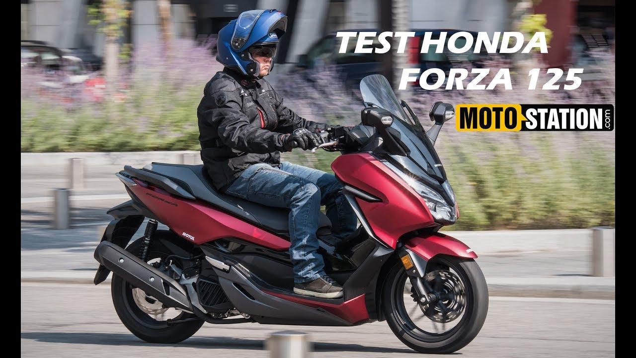 Essai Honda Forza 125 2019 La Star Des Gt