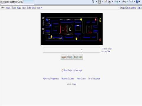 Google Logo: Pac Man