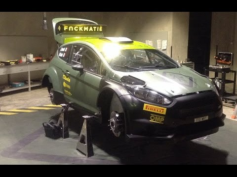 Assembling Time Lapse - Ford Fiesta R5