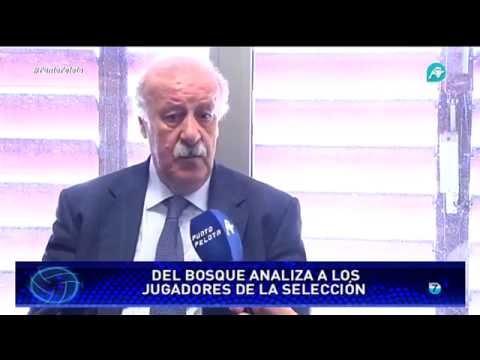 Entrevista completa a Vicente del Bosque, exseleccionador español de fútbol