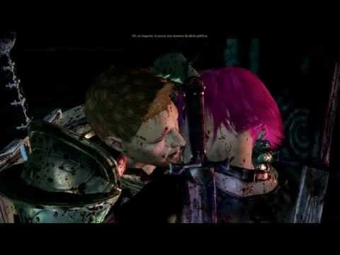 Dragon Age Origins Alistair Kiss Wynne Reaction Beso Alistair Reacción Wynne HD Español