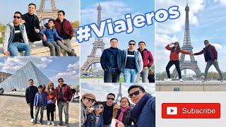 Viajeros in Paris, France. Our next stop: Louvre Museum, Sacré-Cœur Basilica, Notre-Dame etc...