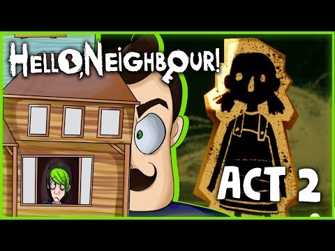 IT'S TIME TO GET OUT! | HELLO NEIGHBOR ACT 2 | DAGames