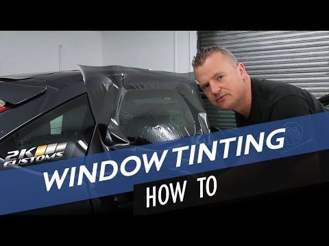 How to tint side windows on Ford Focus - Part 1