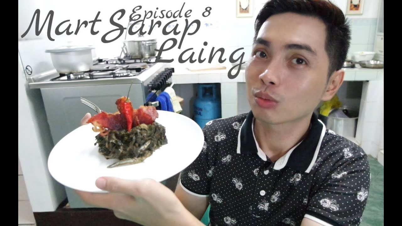 how to make laing bicol recipe