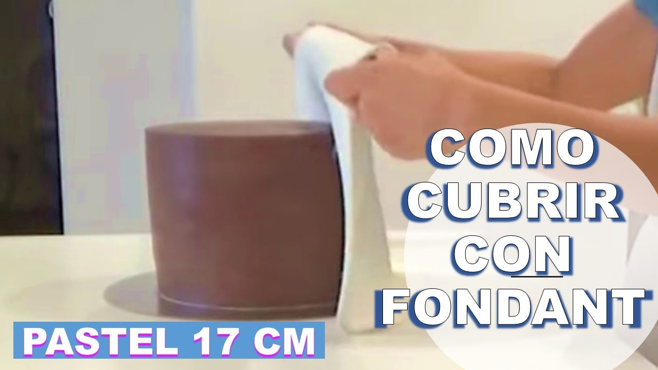 Como cubrir una torta alta con fondant youtube for Se necesita decorador de interiores