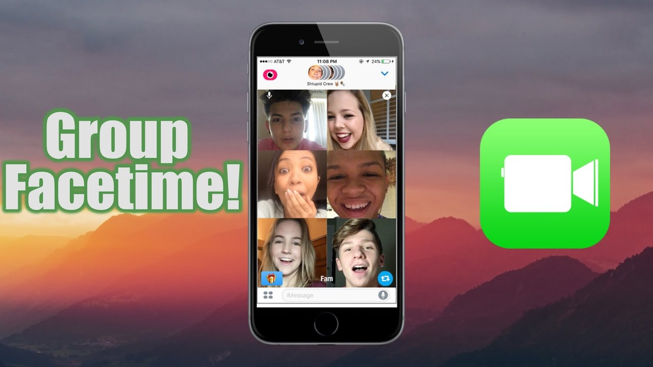 How To Have Group Facetime Calls Youtube