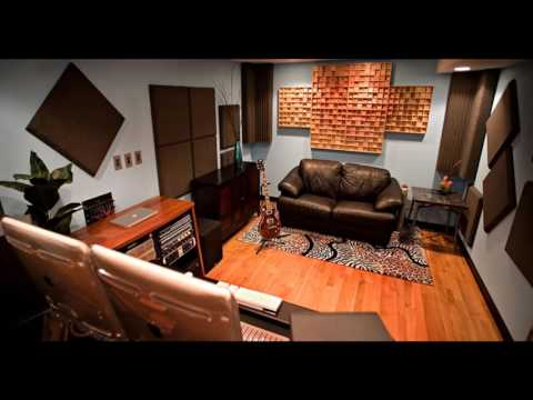 Home recording studio design decorating ideas