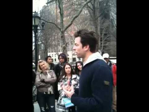 Michael Muhney in Battery Park 4/11/2011