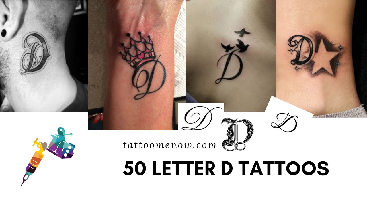 Letter D Templates.60 Letter D Tattoo Designs Ideas And Templates