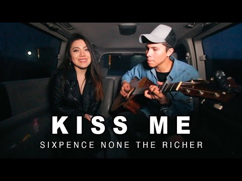 BÁRBARA HUDZ - KISS ME | Sixpence None The Richer Cover