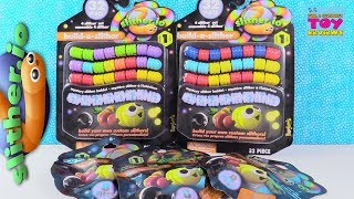 Slitherio Build A Slither Mystery Blind Bag Pack Toy Review   PSToyReviews