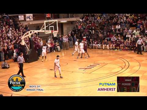Boys Basketball - Putnam vs. Amherst 3-6-15 (WMass Finals)