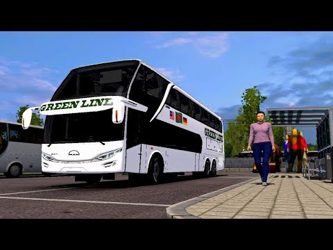 Chittagong to Dhaka: ETS2  (Green Line Double Decker) | Extreme Weather