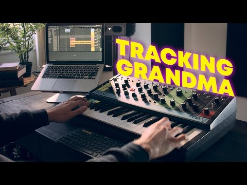Making a song using only the Moog Grandmother synth